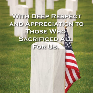 Memorial Day Honor from Renaissance Windows and Doors Houston